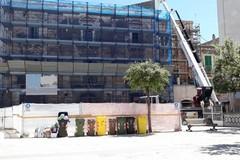 Piazza Longobardi, M5S Trani: «Pericolo di crollo già dal 2016»