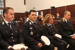 Il sindaco di Trani premia con l'encomio quattro operatori di Polizia Locale