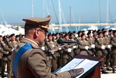 """I militati della 9° Reggimento Fanteria """"Bari"""" a lezione di Karate"""