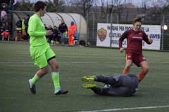 Calcio femminile, l'Apulia perde contro la copolista Roma per 3-1