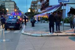 Via Malcangi: una passante colpita da un'insegna