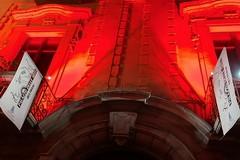 Palazzo Beltrani si illumina per celebrare la giornata della Croce Rossa
