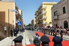Il ministro Lamorgese a Trani per l'inaugurazione della sede del comando provinciale dei Carabinieri
