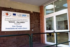 Scuola Bovio, installato un montascale per lo studente disabile
