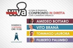 Candidati sindaci a confronto oggi su Traniviva