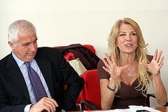 Gabriella Carlucci lascia il PdL e passa nell'Udc