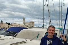 Roberto Soldatini, direttore d'orchestra che vive in barca