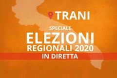 Speciale elezioni regionali 2020, in diretta i risultati da Trani