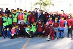 Pomeriggio di solidarietà nel centro Antoniano maschile con il torneo di calcio di beneficienza