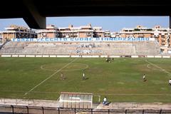 Il vecchio stadio comunale, regno di Franchino il Lungo e dei veri amanti del calcio