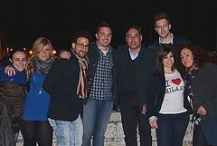 Domenico Triminì incontra elettori e amici sul porto di Trani