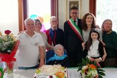Serafina Rana spegne 105 candeline, grande festa a Trani