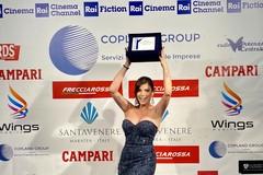 L'attrice tranese Irene Antonucci riceve il premio internazionale Marateale come promessa del cinema