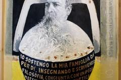 L'artista Rino Vernice dona una sua creazione al Museo Itinerante Giovanni Bovio