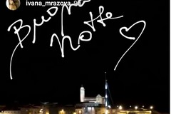 Trani e i vip, di passaggio in città anche la modella Ivana Mrazova