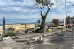 Lungomare di Trani, al via la riqualificazione del belvedere di via Venezia