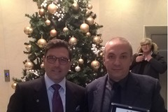 Polizia locale, Fontana e Montaruli ricevono il premio alla professionalità