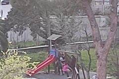 Il giardino di Villa Bini nelle mani dei teppistelli: giochi pericolosi di un gruppo di ragazzini
