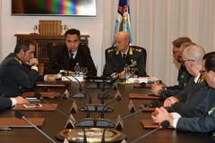 Guardia di finanza, la visita del procuratore del Tribunale di Trani al comando regionale