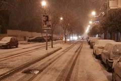 """La """"danza della neve"""" ha funzionato, anche a Trani i primi fiocchi"""