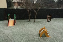 Maltempo, torna la neve a Trani dopo due giorni