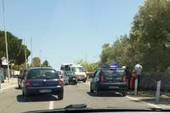 Incidente sulla provinciale Trani-Bisceglie, un ferito non grave