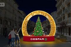 """""""Adotta una strada"""", Piazza Quercia si illumina con Despar"""