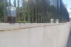 Bicchieri e bottiglie vuote: ecco come si presenta via Statuti Marittimi