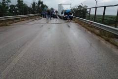Grave incidente sulla sp Andria-Bisceglie in territorio di Trani: tre feriti