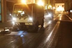 Pulizia delle strade, è iniziato il primo ciclo d'interventi in diverse zone di Trani