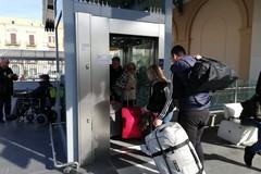 Nuovo ascensore alla stazione di Trani
