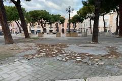 Piazza Sant'Agostino lavori in arrivo, ma intanto è scempio continuo