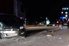 Violento tamponamento nella notte sulla Corato-Trani
