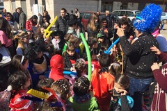 In Largo Goldoni in scena il Carnevale di quartiere