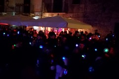 Silent party in via Lagalante