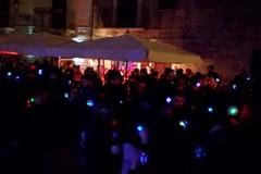 Silent party in via Lagalante