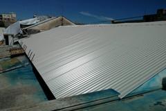 Ex Supercinema, rimossa la copertura in amianto dal tetto