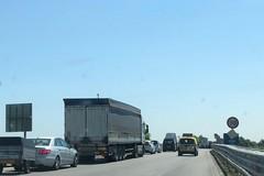 Incidente sulla 16bis all'altezza di Trani sud, rallentamenti alla circolazione in direzione Bari