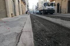 Lavori stradali, oggi operai in azione in via Bebio