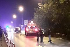Incidente sul ponte di via Istria, un uomo in codice rosso in ospedale