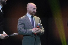 Forza, determinazione, volontà e passione: Yuri Chechi sul palco per Megamark