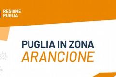 Dal 17 al 31 gennaio la Puglia torna in zona arancione