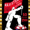Strage di Piazzale Loreto, l'illustratore Massimiliamo Di Lauro omaggia il partigiano tranese Andrea Esposito