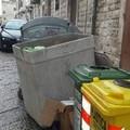 Container di amianto abbandonato in Via Pedaggio Santa Chiara