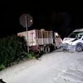 Incidente in territorio di Trani, coinvolto un mezzo della Caritas
