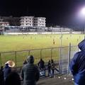 """Il Trani consolida il terzo posto sbarazzandosi del giovane Martina: 3-0 al  """"Tursi """" firmato da Stancarone e Negro"""