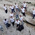 """""""Amici del mare - gruppo sub di Trani """": i volontari dell'associazione a lavoro anche oggi"""