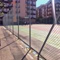 Nuova rete al campetto di via Gisotti, l'intervento a cura della Pro Loco Turenum