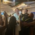 Vip a Trani: ieri in città il cantautore Gigi D'Alessio e Laura Torrisi