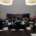 Judo Trani, i ragazzi premiati dal sindaco Bottaro
